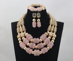 DD26 African Nigerian Wedding Necklace Set