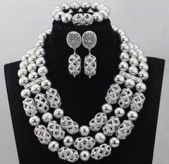 DD25 African Nigerian Wedding Necklace Set