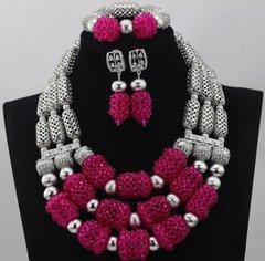 DD27 African Nigerian Wedding Necklace Set