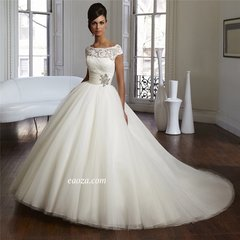 EA00010015_ High Quality Wedding Gown