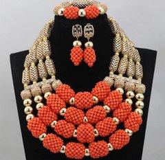 DD30 African Nigerian Wedding Necklace Set