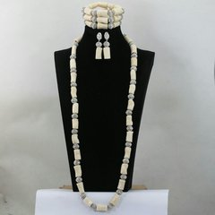 BB400J Coral beads necklace set