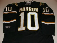 #10 BRENDEN MORROW Dallas Stars NHL LW Black Throwback Jersey