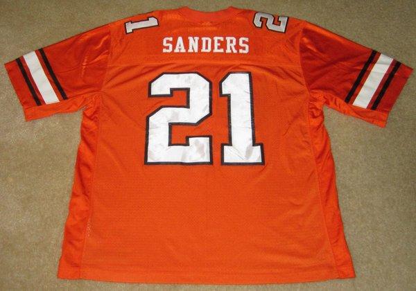 21 Barry Sanders Oklahoma State Cowboys Ncaa Rb Orange