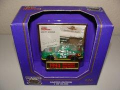 1994 RC Premier 1/64 #26 Quaker State Brickyard 400 Ford Tbird Brett Bodine CWC