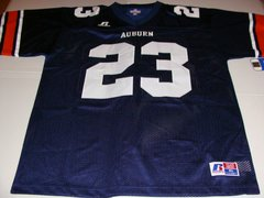 #23 AUBURN Tigers NCAA Football Blue Mint Throwback Jersey