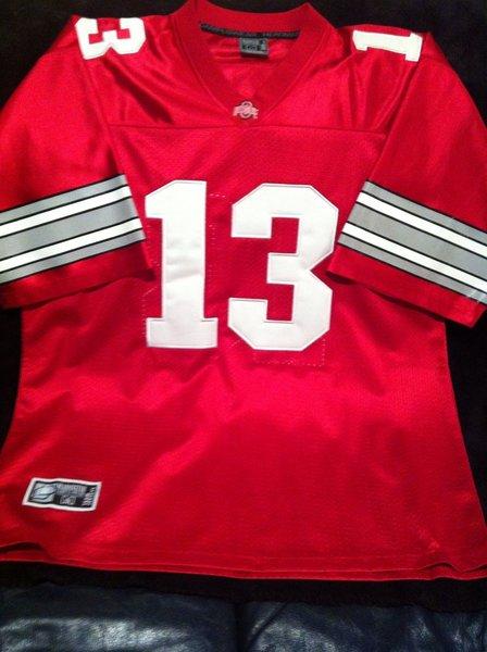 13 Maurice Clarett Ohio State Buckeyes Ncaa Rb Red