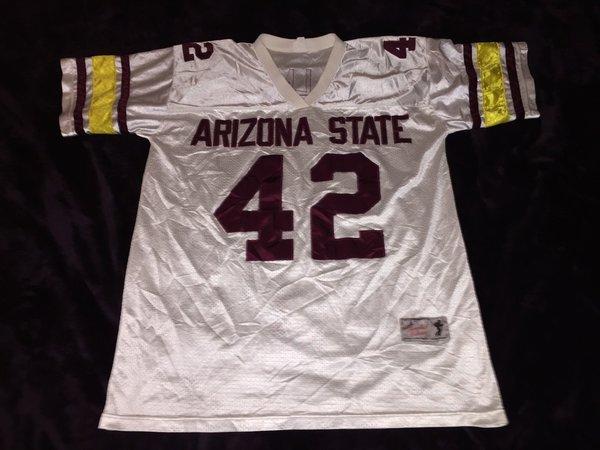 42 Pat Tillman Arizona State Sun Devils Ncaa Lb White