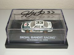 """1994 Revell Club 1/64 #33 Skoal Bandit """"Last Ride"""" Chevy Lumina Harry Gant CWC AUTOGRAPHED"""