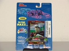 1995 RC Premier 1/64 #18 Interstate Batteries Chevy MC Bobby Labonte CWC AUTOGRAPHED