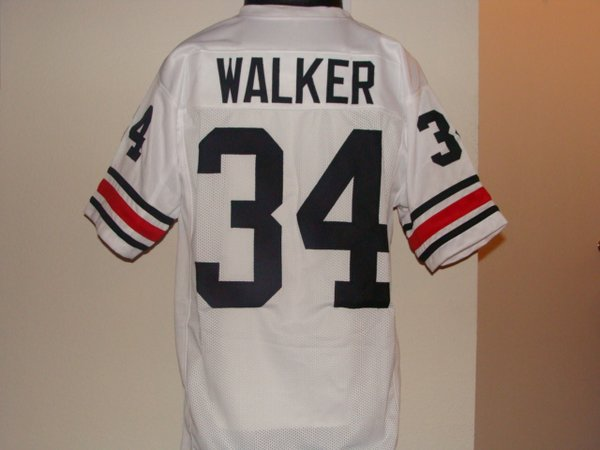 ... 34 HERSCHEL WALKER Georgia Bulldogs NCAA RB White Throwback Jersey ... 4ac41eca4