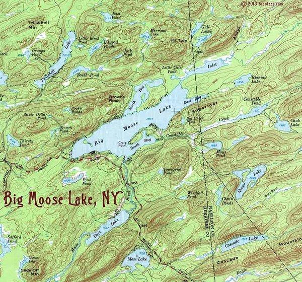 Big Moose Lake 1954 To...