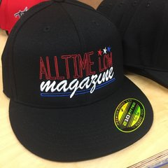 'Merica All Time Low Magazine hat