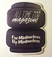 Airbag For Minitruckers by Minitruckers sticker