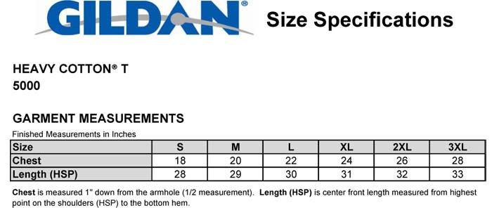gildan heavy cotton size chart: T shirt size chart edm products electronic dance music shirts