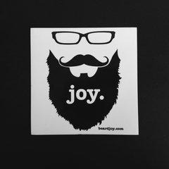 Beard Joy Sticker
