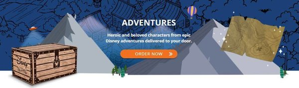 FUNKO DISNEY TREASURES- ADVENTURES BOX (PRE-ORDER)