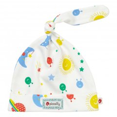 Piccalilly Baby Retro Space Knot Hat
