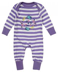 Piccalilly Girls Farm Train Playsuit