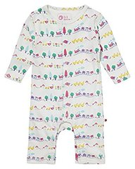 Piccalilly Girls Farm Train Romper