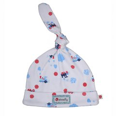 Piccalilly Baby Steam Train Knot Hat