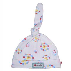Piccalilly Girls Nursery Floral Duck Knot Hat