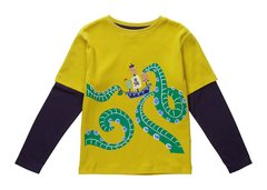 Piccalilly Boys Sea Monster Shirt