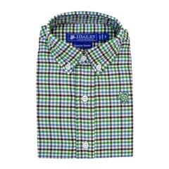 J Bailey Plaid Roscoe Acorn Button Down Shirt