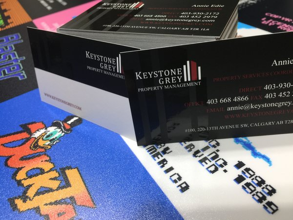 Spot UV Laminated Cards