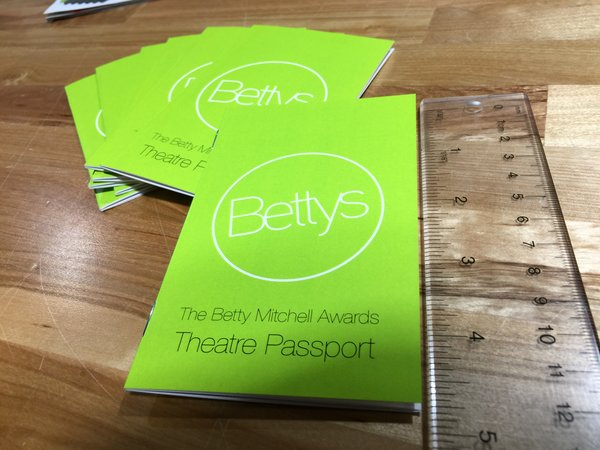 Passport Sized Booklets