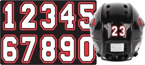 Helmet Numbers