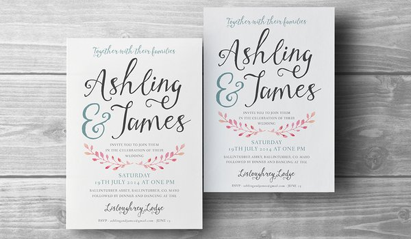 Wedding Invitations & Birth Announcements
