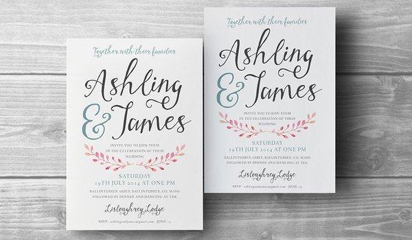 Wedding Invitations & Birth Announcements