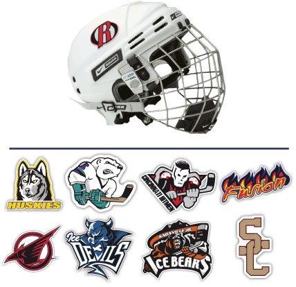 Hockey Helmet Stickers