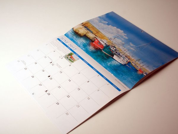 Saddle-Stitched Calendars