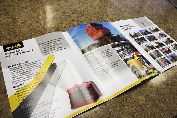 3 Panel Gate Fold Brochures