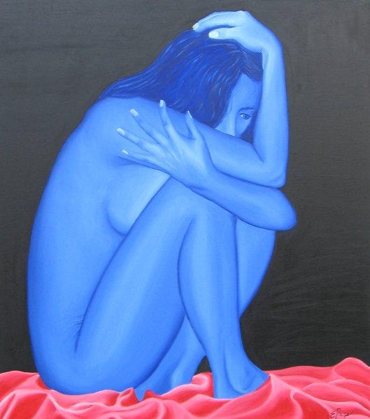 Fourth Floor Blue Nude
