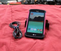 LG Lancet for Android 4G LTE Smartphone with Case LG-VS 820 Unlocked