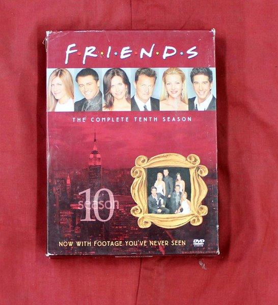 Friends Season 10 DVD