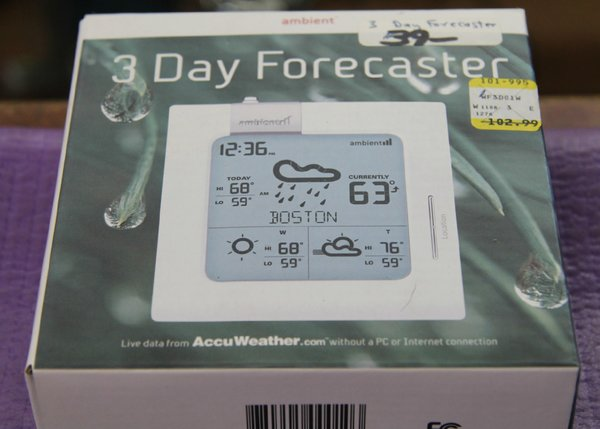Ambient 3-Day Weather Forecaster
