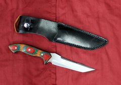 Chipaway Cutlery Knife with Black Leather Sheath
