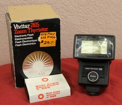 Vivitar 265 Zoom ThyristorElectronic Flash