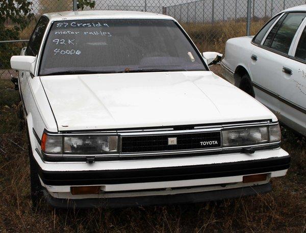 1987 Toyota Cressida - 4 Door - Parts Vehicle or Fix
