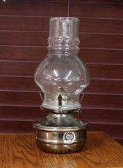 Pewter Oil Lamp