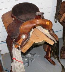 "1701 16"" Suede Seat Saddle"