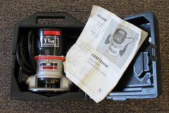 Craftsman Router 315.17561 w/ poly case and manual
