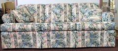 Riverside 3 Cushion Sofa w/ Floral Print
