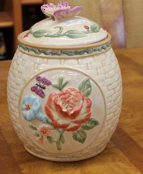 Small Ceramic Kitchen Canister