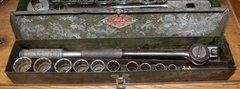 "13 pc S-K Tools 1/2"" Socket Set-USA"