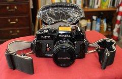 Minolta XE-7 35mm SLR Film Camera w/ Minolta 50mm Lens